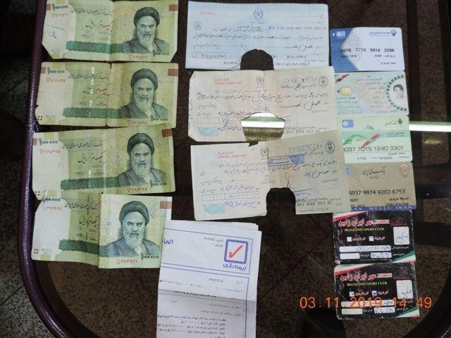 مامور وظیفه شناس، کیف گمشده را به صاحبش بازگرداند