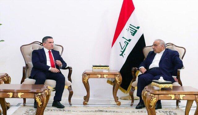 در ملاقات نخست وزیر مکلف عراق با عبدالمهدی و الحلبوسی چه گذشت؟