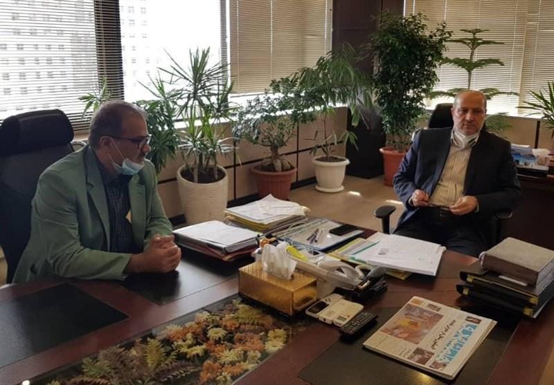 ملاقات سرپرست فدراسیون موتورسواری و اتومبیلرانی با معاون شهردار تهران