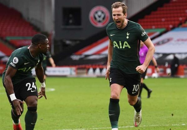 لیگ برتر انگلیس، تاتنهام با پیروزی مقابل قعرنشین به رده چهارم صعود کرد